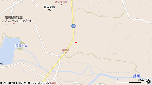 大分県竹田市直入町大字長湯8242周辺の地図