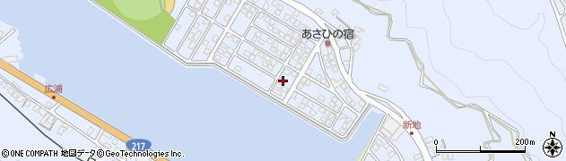大分県津久見市千怒5227周辺の地図