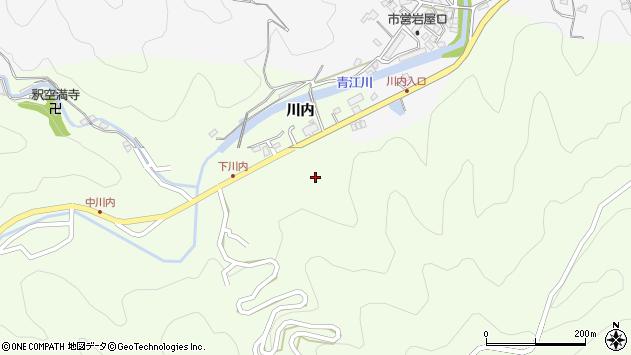 大分県津久見市上青江5941周辺の地図