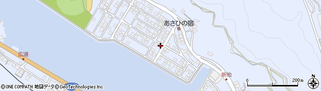 大分県津久見市千怒5204周辺の地図