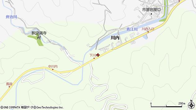 大分県津久見市上青江5964周辺の地図