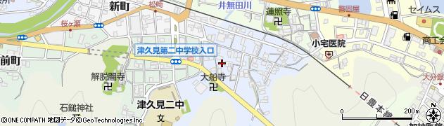 大分県津久見市元町9周辺の地図