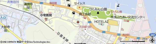大分県津久見市港町2周辺の地図