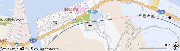 大分県津久見市津久見浦3788周辺の地図