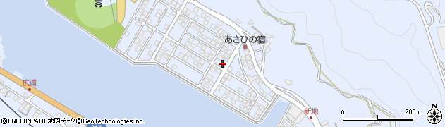 大分県津久見市千怒5195周辺の地図