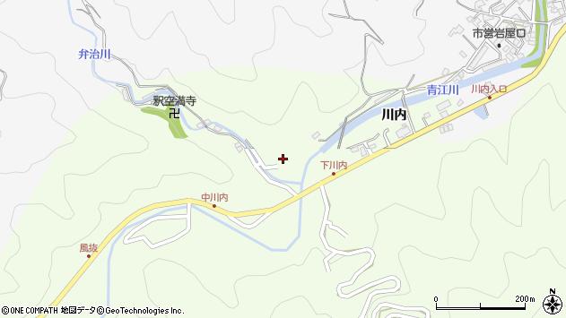 大分県津久見市上青江6317周辺の地図