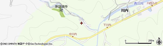 大分県津久見市上青江6363周辺の地図