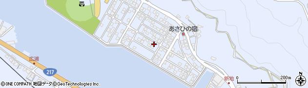 大分県津久見市千怒5207周辺の地図