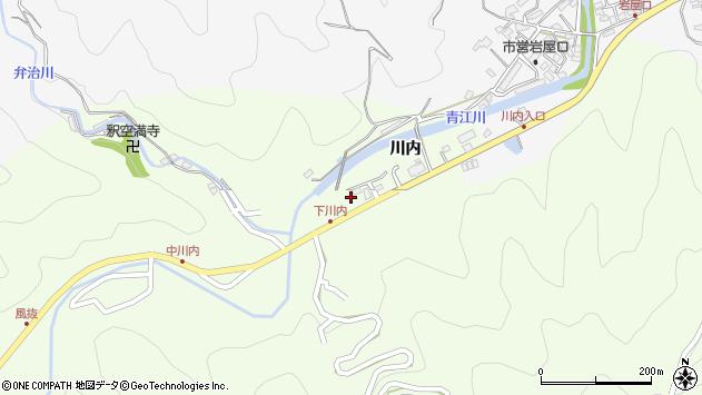 大分県津久見市上青江5807周辺の地図
