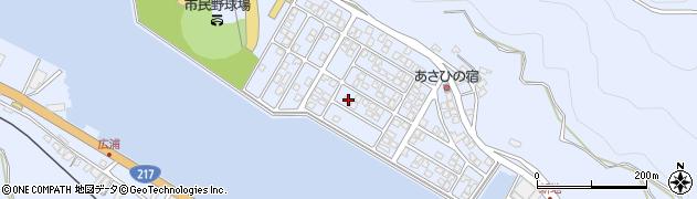 大分県津久見市千怒5222周辺の地図