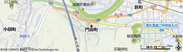 大分県津久見市門前町8周辺の地図