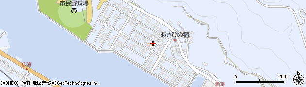大分県津久見市千怒5187周辺の地図