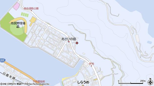 大分県津久見市千怒4713周辺の地図