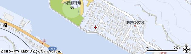 大分県津久見市千怒5315周辺の地図