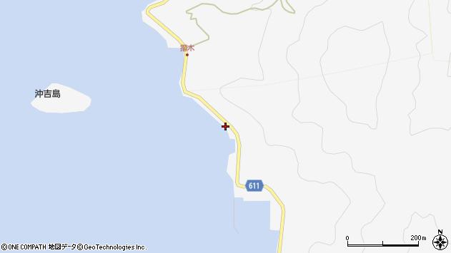 大分県津久見市四浦5451周辺の地図