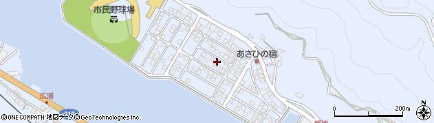 大分県津久見市千怒5189周辺の地図