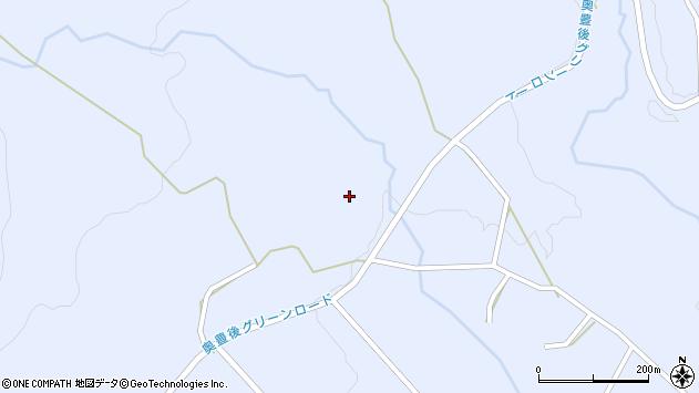 大分県竹田市久住町大字有氏3143周辺の地図