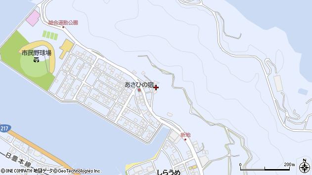 大分県津久見市千怒4714周辺の地図