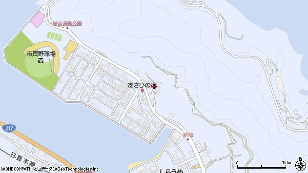 大分県津久見市千怒4745周辺の地図