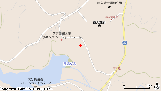 大分県竹田市直入町大字長湯8175周辺の地図