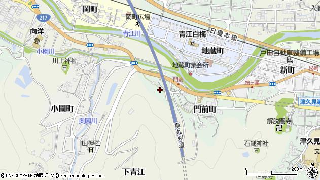 大分県津久見市門前町10周辺の地図
