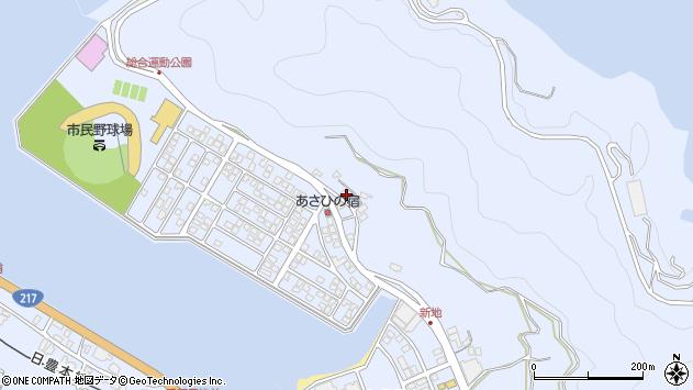 大分県津久見市千怒4746周辺の地図