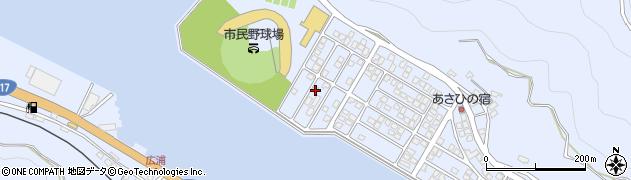 大分県津久見市千怒5306周辺の地図