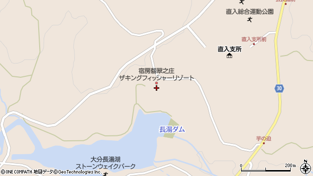 大分県竹田市直入町大字長湯7443周辺の地図