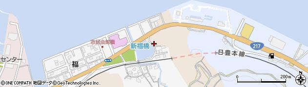 大分県津久見市津久見浦3706周辺の地図