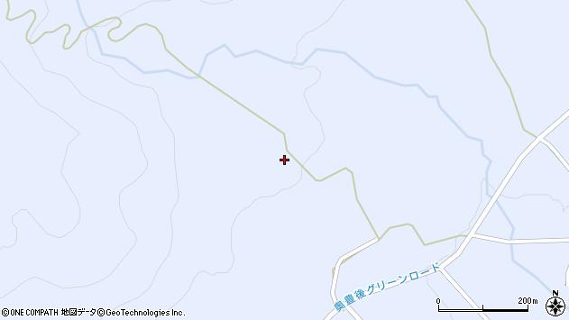 大分県竹田市久住町大字有氏2950周辺の地図