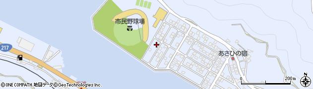 大分県津久見市千怒5307周辺の地図