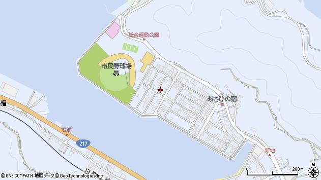 大分県津久見市千怒5292周辺の地図