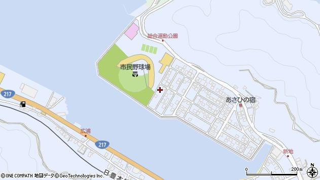 大分県津久見市千怒5308周辺の地図