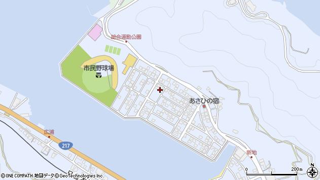 大分県津久見市千怒5181周辺の地図