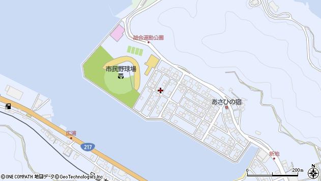 大分県津久見市千怒5293周辺の地図