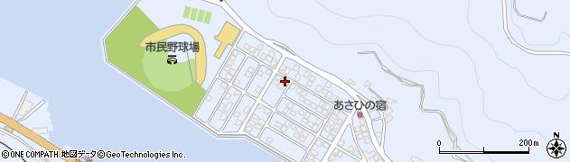 大分県津久見市千怒5170周辺の地図