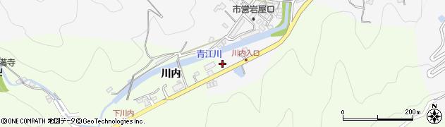 大分県津久見市上青江5777周辺の地図