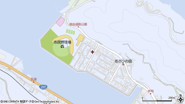 大分県津久見市千怒5273周辺の地図