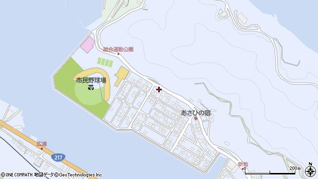 大分県津久見市千怒5145周辺の地図