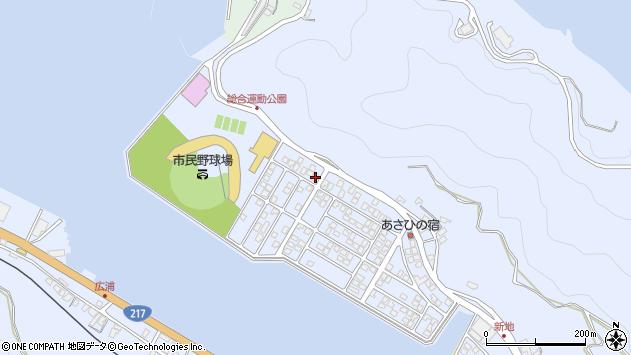 大分県津久見市千怒5267周辺の地図