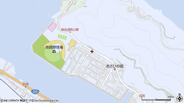 大分県津久見市千怒5146周辺の地図