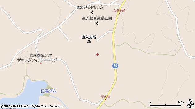 大分県竹田市直入町大字長湯8195周辺の地図