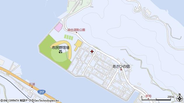 大分県津久見市千怒5261周辺の地図
