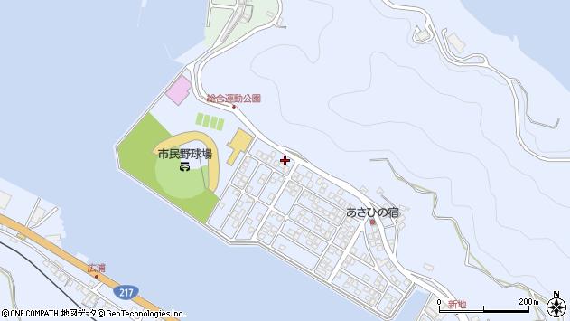 大分県津久見市千怒5254周辺の地図