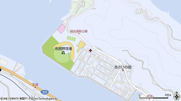 大分県津久見市千怒5262周辺の地図