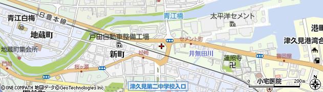 大分県津久見市セメント町9周辺の地図