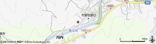 大分県津久見市上青江1302周辺の地図