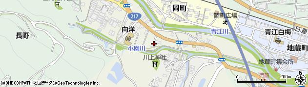 大分県津久見市中町4周辺の地図