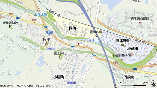 大分県津久見市中町2665周辺の地図