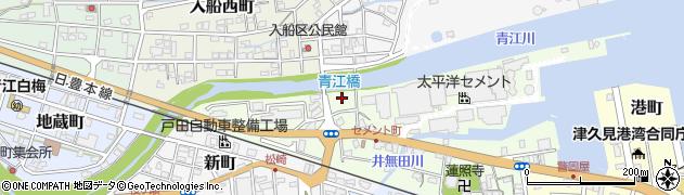 大分県津久見市セメント町11周辺の地図